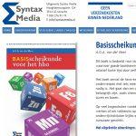 portfolio webdesignbureau website syntax media
