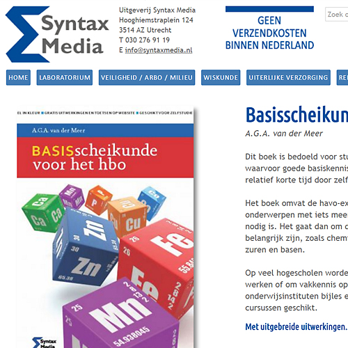 portfolio webdesignbureau website syntax media