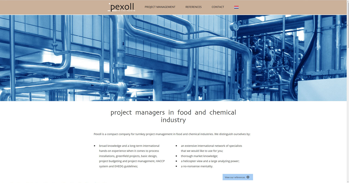 Pexoll projectmanagement