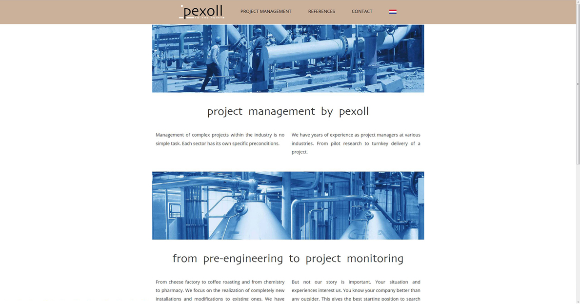 Pexoll - from pre-engineering to project monitoring